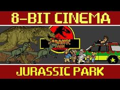 Since Every Channel On TV Is Showing Jurassic Park, You Might As Well Watch It In 8-Bit Too!