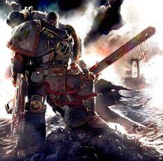 Garviel Loken Istvaan III (Main Character from Warhammer 40K Horus Rising, False Gods, and Galaxy In Flames)