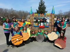 girl scout cookies bling your booth | Girl Scouts Cookie Castle Bling my Booth Troop 60373