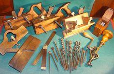 Coleccion de herramientas antiguas de carpintero. Old tool carpenter.  ============ ========  VENDIDO  ======= ========  SOLD  =========