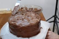 Easy Moist Chocolate Cake: 10 Steps (with Pictures) Easy Moist Chocolate Cake, Homemade Chocolate Buttercream Frosting, Amazing Chocolate Cake Recipe, Best Chocolate Cake, Egg Free Cakes, 9 Inch Cake Pan, Cake Pedestal, Cake Board, Cake Flour