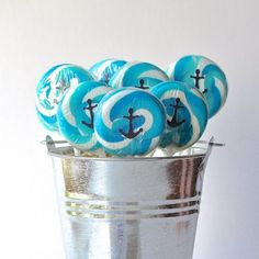 Make these cute anchor treats for your next nautical or under the sea party!