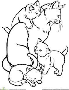 babykatze ausmalbild 03   coloring pages   pinterest