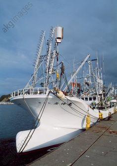Fishing vessel, Akkeshi, Hokkaido, Japan.