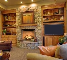Gas Fireplaces Traditional
