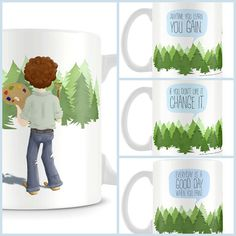 If you don't like it change it Bob Ross Mug