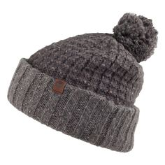 Timberland Hats Ombre Bobble Hat - Blue from Village Hats.