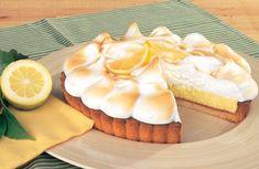 Σε ένα μπολ βάζετε το αλεύρι, το Μπέικιν Πάουντερ ΓΙΩΤΗΣ τη ζάχαρη και τα ανακατεύετε. Κόβετε το βούτυρο σε κομματάκια και το προσθέτετε στο αλεύρι. Τρίβετε με τα χέρια μέχρι... Camembert Cheese, Cheesecake, Lemon, Pudding, Pie, Sweets, Desserts, Recipes, Food