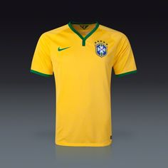 Nike Brasil Home Jersey 2014 | SOCCER.COM