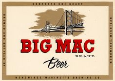 Big Mac Brand Beer