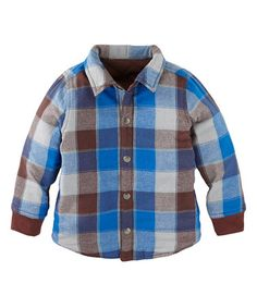 Loving this Blueberry Donau Reversible Snap Jacket - Toddler & Boys on #zulily! #zulilyfinds