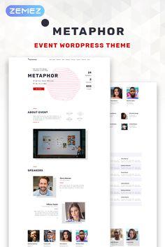 Metaphor - #creative #agency   #event  Planner #wordpress  #theme #67517