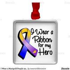e0a66f55951 8 Best Marigold Blue and Purple Awareness Ribbon images in 2016 ...