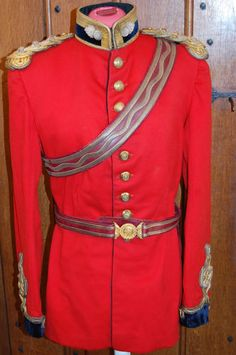 Royal Engineers Officers Full Dress Captains Tunic