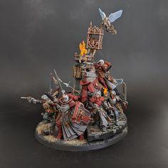 Warhammer Models, Warhammer Fantasy, 40k Sisters Of Battle, Saint Katherine, Plastic Man, Imperial Knight, Tabletop, Necron, Warhammer 40k Miniatures
