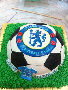 Chelsea Cake, Blue is the Color!