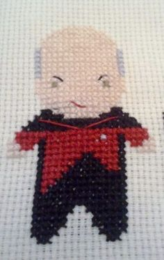 Aw yea. I need to take up cross-stitching again...just for Capt. Picard.
