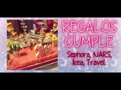 Regalos Cumple: Sephora, NARS, Ikea, Travel...