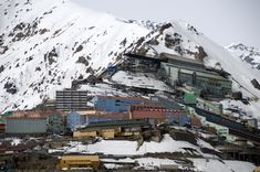 Sewell is an uninhabited Chilean mining town located on the slopes of the Andes
