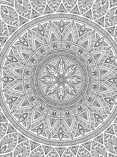 Art of Coloring Mandalas from KnitPicks.com Knitting by Jo Chapman