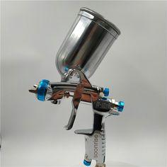pistola de aerosol de pintura al aire filtros de pistola de pintura en spray 10 filtros de alimentaci/ón por gravedad blanco parte universal peque/ña de gravedad