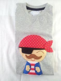 Camisetas Personalizadas. Piratas y Sirenas / Cosetes de Marta - Artesanio