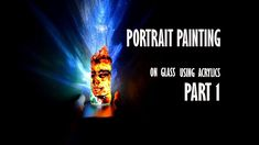 Painting Bottle with acrylic paints | Part 1 | Shivam Sehgal Artworks  #art #arte #acrylic #acrylicpainting #portrait #portraitwithacrylic #girlportrait #diy #homedecor #lamp #beautiful #inspiringart #shivamsehgal #shivamsehgalart #shivamsehgalartwork #portraittutorial #paintingtutorial #mixmedia #glasspainting