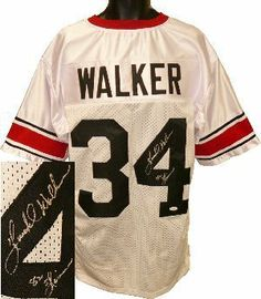 Herschel Walker signed Georgia Bulldogs White Custom 82 Heisman- JSA  hologram .  362.52. Herschel 2f9d32216