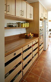 Plywood Kitchen with Recycled Timber Benchtop