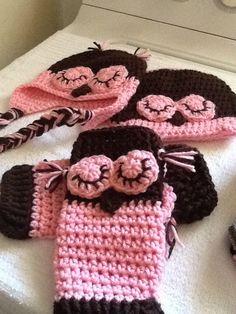 Owl baby set