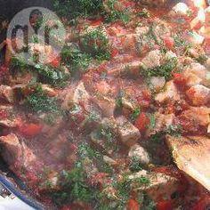 Foto recept: Georgische stoofschotel met kip