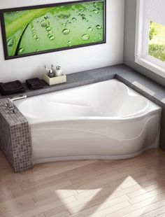 The Murmur Bathtub From MAAX Is A Contemporary Design Providing Beauty,  Comfort And Ease Of