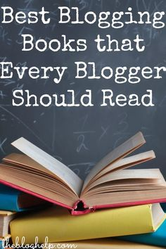 There are a lot of blogging books out there...but not all are that great! Here are some of the best blogging books every blogger should read.