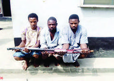 ACKCITY News: OPC members nabbed with police guns