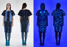 Short Sleeve Dresses, Dresses With Sleeves, Behance, Gallery, Blue, Collection, Fashion, Moda, Sleeve Dresses