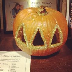 sorority pumpki---would be a great idea for a alumni get together event