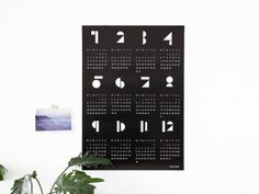 'Toyblocks' Calendar 2015 — snugstudio — Featured on I Luv Etsy! | pinterest…