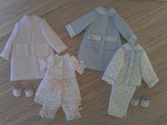 1:12 scale miniature clothes, Dollhouse nursery clothes, 1/12 scale miniatures clothes dollhouse accesories on Etsy, 25,00 €