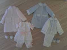 1:12 scale miniature clothes, Dollhouse nursery clothes, 1/12 scale miniatures clothes dollhouse accesories on Etsy, 25,00 €