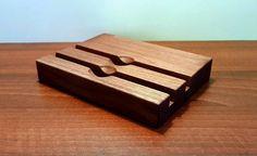 iPhone 7 and iPad Wood DUAL  Station. iPad Dock. iPhone 7 PLUS