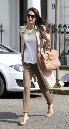 Amal Alamuddin Clooney is officially a style star—she has a designer bag named after her.