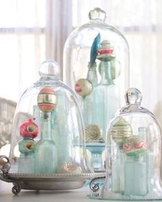 Nine Ways to Decorate Your Bell Jar for Christmas » Curbly | DIY Design Community