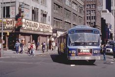 Off-Off Broadway is On-On Fire with The Revival of The Sandman- An Interview with the Award-Winning Show's Writer, Lynn Navarra Metropolitan Transportation Authority, Bus City, My Kind Of Town, Ny Ny, Picture Postcards, Vintage New York, Bus Stop, Historical Photos, New York City