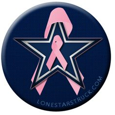 Cowboys Fans Support Breast Cancer Awareness - Lone Star Struck