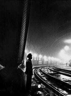 Josep Closa - Train Station, Undated.