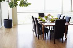 The Benefits of Laminate Flooring : Natural hardwood flooring comes in planks that are 8 or 10 feet in length, and sometimes even longer. By contrast laminate planks that simulate hardwood are sold in convenient 4 foot strips.
