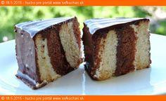 Nepečený bebekeksový koláčik Skúste zjesť iba jeden a druhý za ním pôjde sám  Ingrediencie 2 balíky svetlých BEBE keksíkov 2 balíky čoko BEBE keksíkov 3 dl vody 1 zlatý klas alebo vanilkový puding 250 g maslo 100 g práškový cukor 1 vajíčko žĺtok 4 PL strúhaný kokos 3 PL kakao POLEVA: 200 g horká …