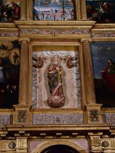 Detalle de retablo de altar mayor