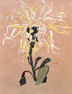 Egon Schiele's flowers
