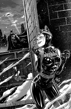 Catwoman & Batman on Behance